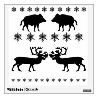 Winter PAttern Wall Sticker