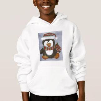 Winter Penguin Child Hoodie