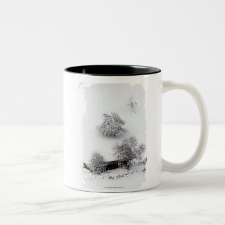 Winter - Photography Jean Louis Glineur Two-Tone Coffee Mug
