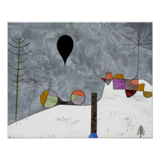 Winter Picture by Paul Klee Print