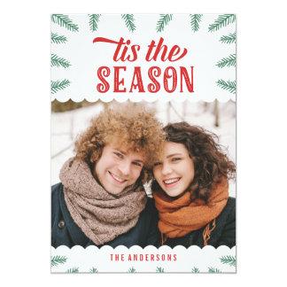 Winter Pine | Holiday Photo Card