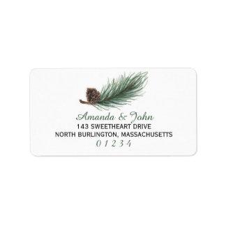 Winter Pine Watercolor | Address