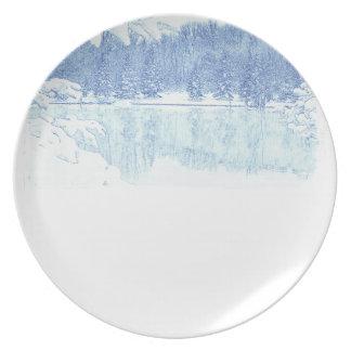 winter plate