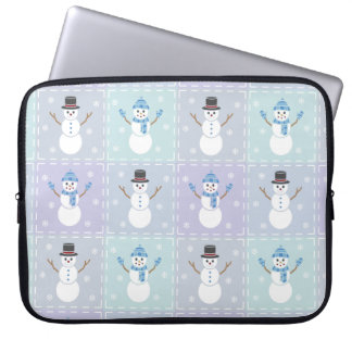 Winter Quilt Laptop Sleeve
