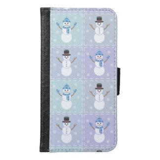 Winter Quilt Smartphone Wallet Case