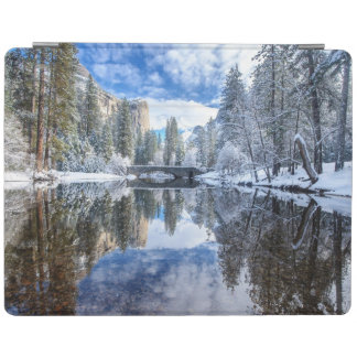 Winter Reflection at Yosemite iPad Cover