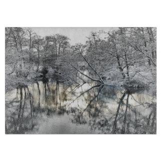Winter Reflections Cutting Board