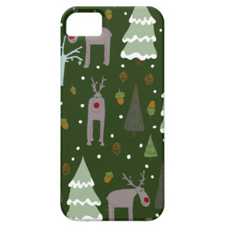 Winter Reindeer Case For The iPhone 5