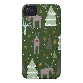 Winter Reindeer Case-Mate iPhone 4 Cases