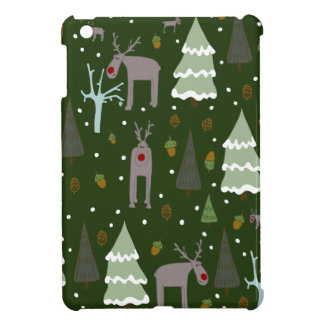 Winter Reindeer iPad Mini Cover