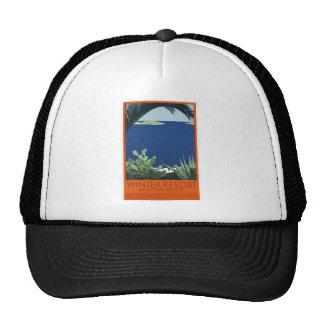 Winter Resort Jugoslav Riviera Trucker Hat