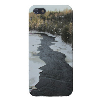 Winter River Landscape Case For The iPhone 5
