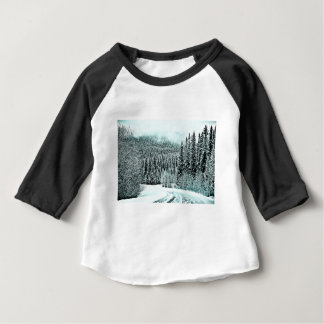 Winter Road Baby T-Shirt