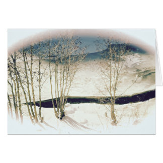Winter Scape All-Occasion greeting card