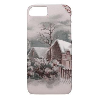 winter scene A iPhone 8/7 Case