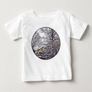 Winter Scene Baby T-Shirt