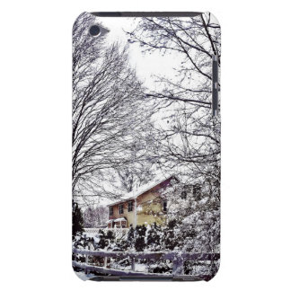 Winter Scene Barely There iPod Cover