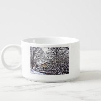 Winter Scene Bowl