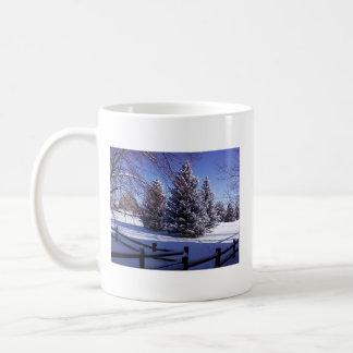 Winter Scene Cocoa Mug