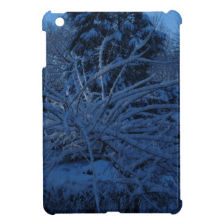 winter scene ipad case
