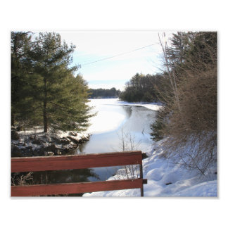 Winter Scene Photo Art