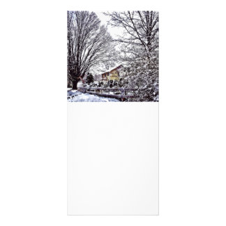 Winter Scene Rack Card