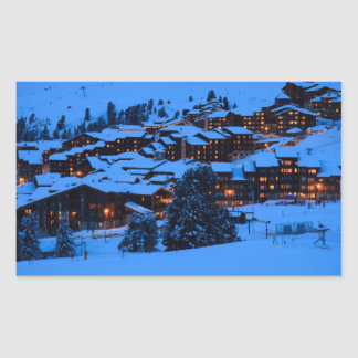 Winter Scene Sticker