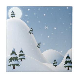 Winter Scene Tile