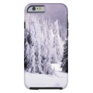 Winter scene tough iPhone 6 case