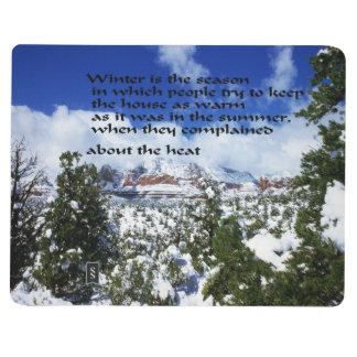 Winter Scenery in Sedona Arizona Journals