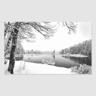 winter scenery stickers
