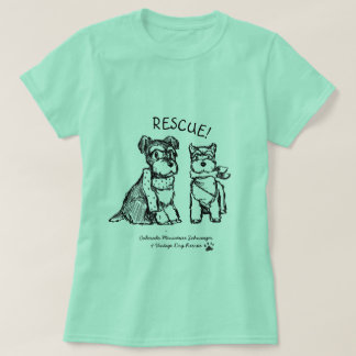 Winter Schnauzers - Basic T-Shirt (Women)
