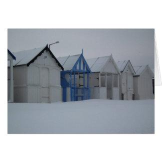 Winter Seaside Card