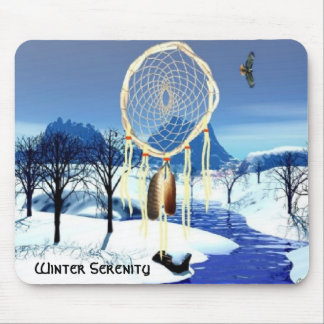 Winter Serenity Mouse Pad