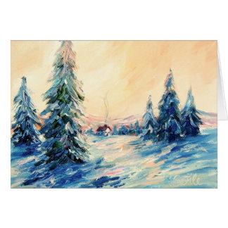 Winter Settles In Card