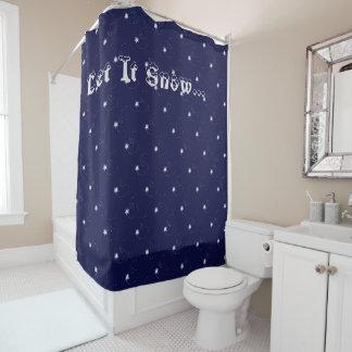 Winter-Shower Curtain 'Let it Snow
