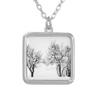 Winter Silver Plated Necklace