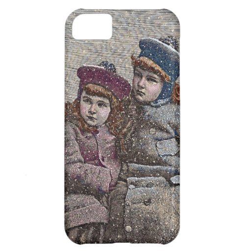 Winter Sisters Cover For iPhone 5C