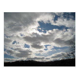 Winter Sky Postcard
