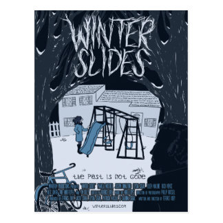 """Winter Slides"" Theatrical Postcard"