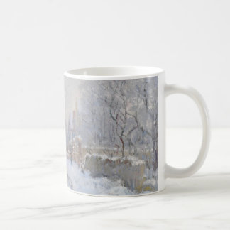 Winter Snow at Argeteuil Coffee Mug