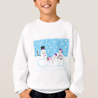 Winter Snow Family Sweatshirt