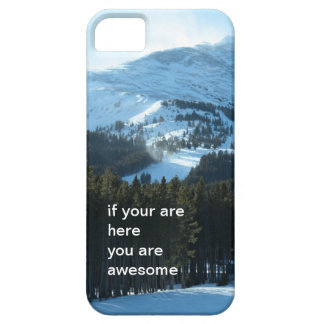 Winter Snow Mountain iPhone 5 Case