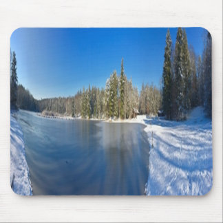 Winter Snow Nature Mousepad, Nature Mouse Pad