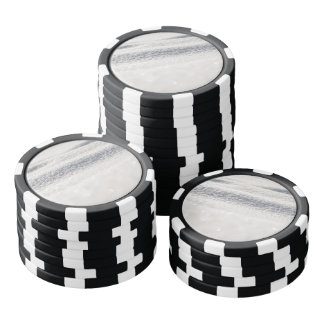 Winter Snow Poker Chips