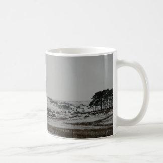 Winter Snow Scene in Cumbria Basic White Mug