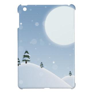 Winter Snow Scene iPad Mini Cover