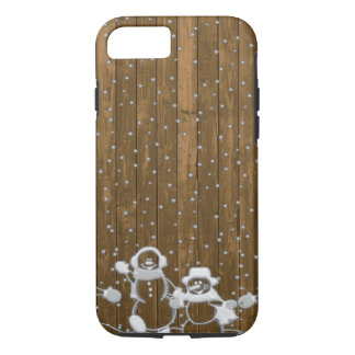 Winter Snow Snowman Peace Love Destiny iPhone 8/7 Case