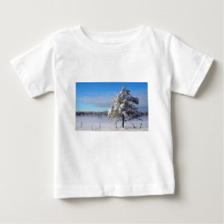 Winter Snow St Joseph Island Baby T-Shirt