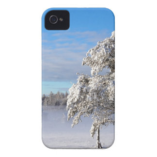 Winter Snow St Joseph Island iPhone 4 Case-Mate Case